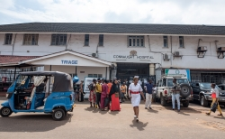 Connaught Hospital, Freetown, photo by Olivia Acland